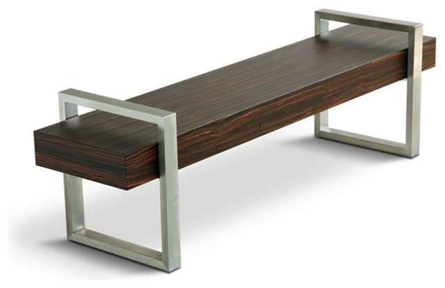 Gus Modern Return Bench - Modern - Indoor Benches - by Bobby Berk Home