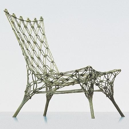 Cappellini Knotted Chair By Marcel Wanders eclectic-living-room-chairs