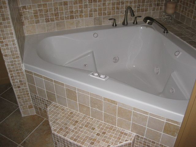 Walk In Shower And Jacuzzi Tub Eclectic Other Metro By Lone Star Remode