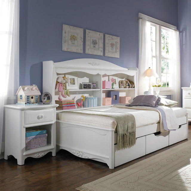 Haley Bookcase Daybed - Modern - Daybeds - by Rosenberry Rooms