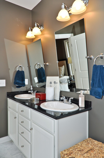Signature Homes Master Bathroom at Chace Lake  bathroom