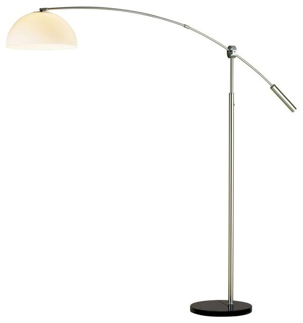 contemporary arc floor lamp x 22 4314 contemporary floor lamps. Black Bedroom Furniture Sets. Home Design Ideas