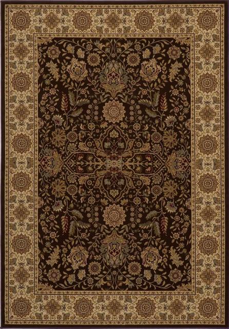 "Momeni Royal 2'3"" x 7'10"" Brown Rug contemporary-rugs"