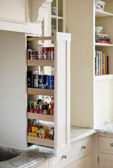 Pantry Options from Heartwood Kitchens Danvers MA - Traditional - Kitchen - boston - by ...