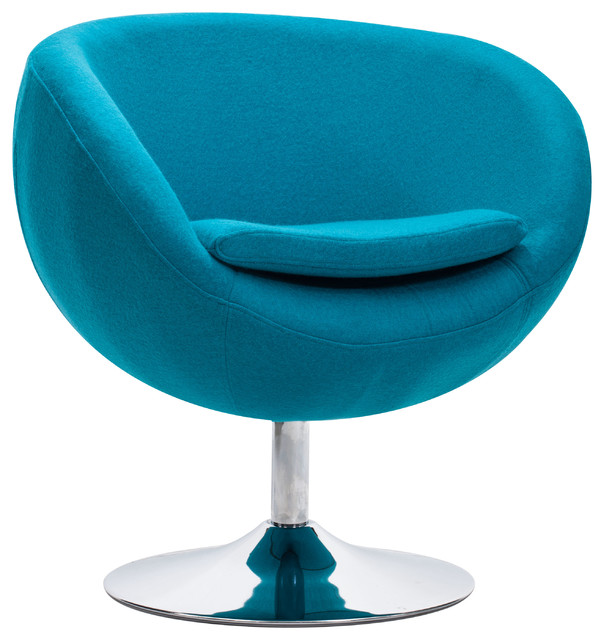 Lund Arm Chair Island Blue contemporary-armchairs-and-accent-chairs