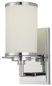 Glass Note Wall Sconce contemporary-wall-lighting