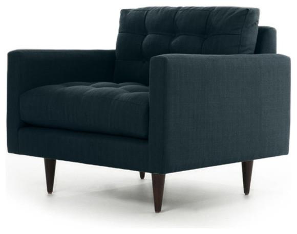 Tyler Chair, Klein Azure midcentury-accent-chairs