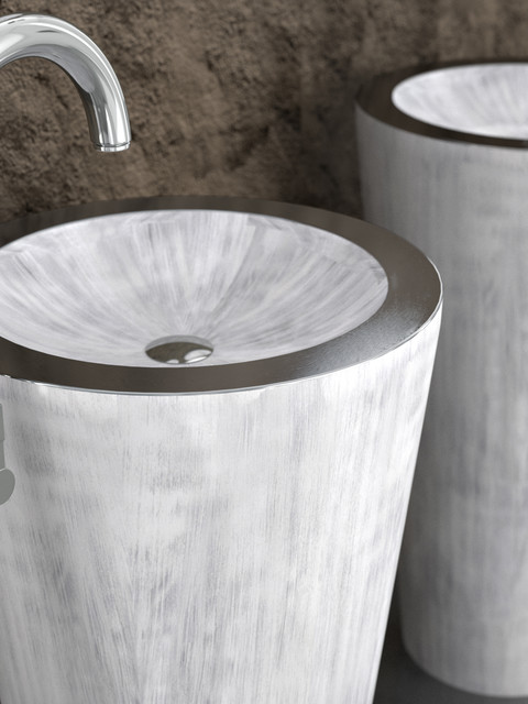 Modern Vessel Sinks : Contemporary Vessel Sinks contemporary-bathroom-sinks
