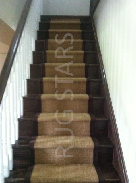 Sisal Stair Runners Modern Toronto By Rug Stars