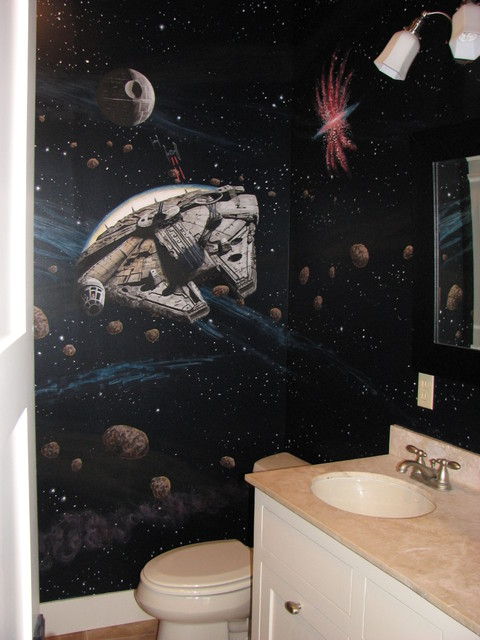 Star Wars Murals traditional