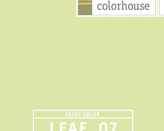 Colorhouse LEAF .07 - Colorhouse LEAF .07: Awakening and luminous, vibrant like spring. Great for lofts and large spaces filled with natural light, also lively in kitchens - an unexpected treat.