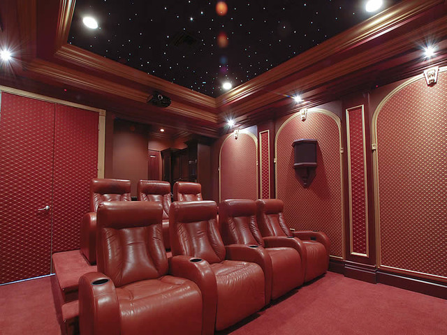 Florida home theater interior designs palm beach Home theater interior design ideas
