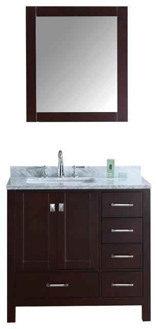 36 inch bosconi sb 2105 contemporary single vanity - All Products Storage Amp Organization Storage Furniture Bathroom