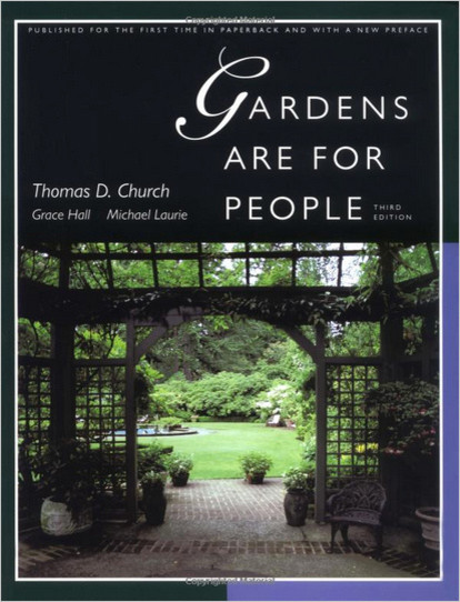 Gardens Are for People, by Thomas D. Church books