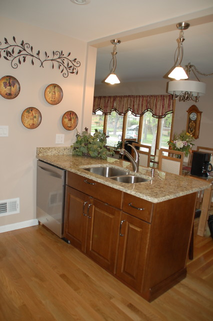 1960s Kitchen Remodel Before After: 1960's Ranch Kitchen Remodel Niles-Before & After