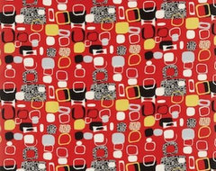 Festival 50s Fabrics Collection modern upholstery fabric