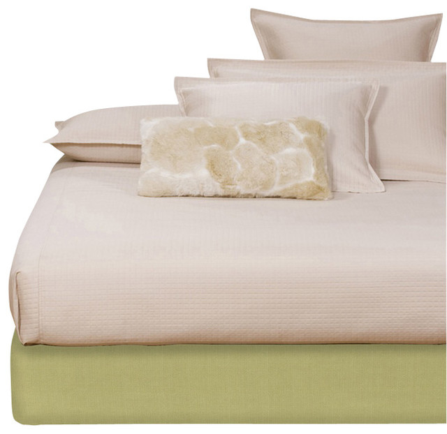Howard Elliott Sterling Willow Queen Boxspring Cover modern-beds
