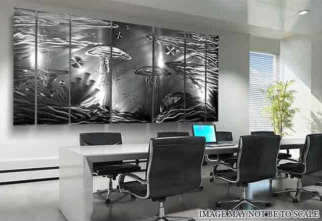 Life Aquatic Xl Silver Abstract Marine Life Home Dcor Home Decorators Catalog Best Ideas of Home Decor and Design [homedecoratorscatalog.us]