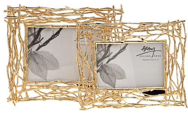 Michael Aram 5 x 7 Twig Frame contemporary frames