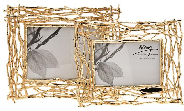 """Michael Aram 5"""" x 7"""" Twig Frame contemporary-frames"""