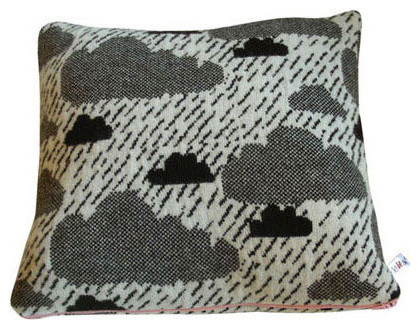 Rainy Day Cushion eclectic-decorative-pillows