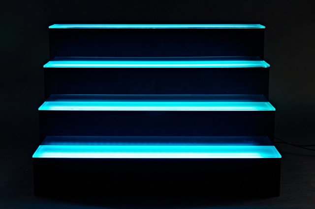 LED Liquor Bar Shelves From Armana Productions - Traditional - Wall ...