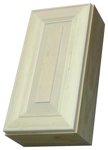 "22"" Flint Series Narrow On-The-Wall Cabinet 7.25"" Deep Inside - Traditional - Bathroom Cabinets ..."
