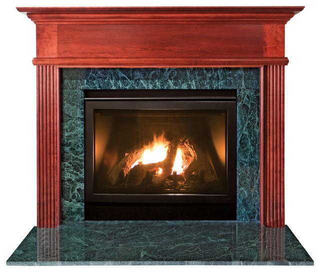 Kensington Mdf Primed White Fireplace Mantel Surround 36 Inch Modern Fireplace Mantels