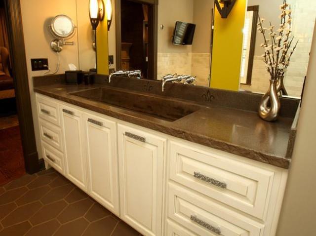 Mediterranean Bathroom Sinks: Bathroom Vanities And Sink