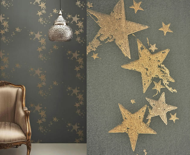 Star Wall Decor Ideas: All Star Wallpaper By Barneby Gates