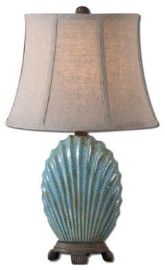 Seashell Table Lamp - Grandin Road traditional-table-lamps
