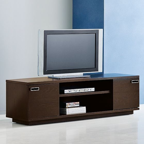 Flip-Door Media Unit modern-media-storage