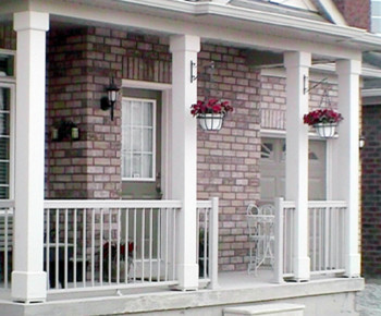 Decorative columns contemporary outdoor products for Exterior decorative columns