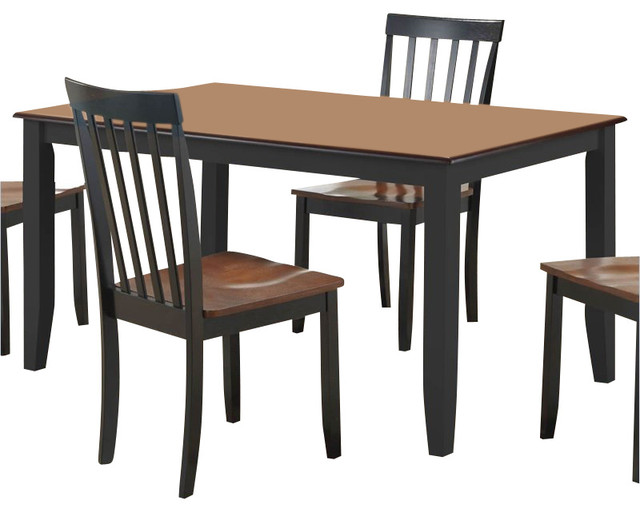 Black And Cherry Dining Table Hillsdale Embassy Pedestal
