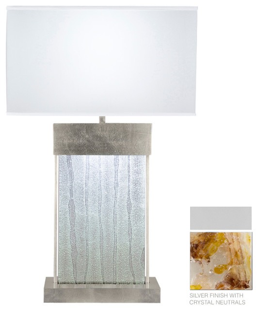 Crystal Bakehouse Carnelian & Citrine Crystal Table Lamp, 824810-21ST contemporary-table-lamps