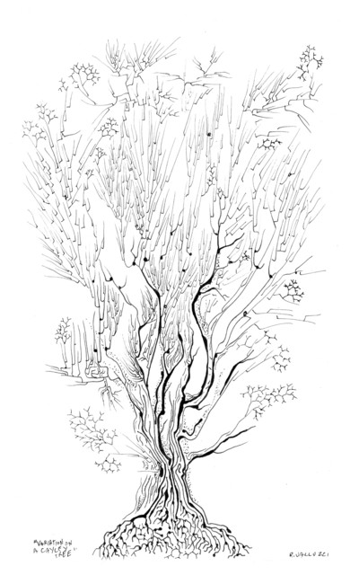 Variation on a Cayley tree eclectic-artwork