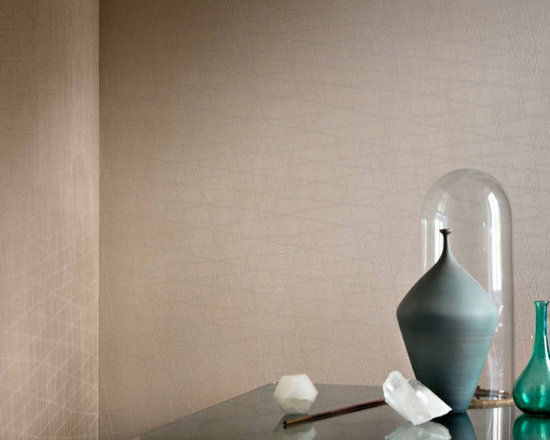 Rubelli Reticolo Wall - PRODUCED ON A VINYL BASE, THIS IS THE WALLPAPER VERSION OF THE RETICOLO SILK LAMPAS, PART OF THE GIO PONTI COLLECTION.