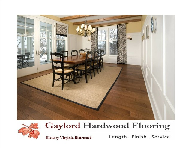 Rustic and Refined hardwood-flooring