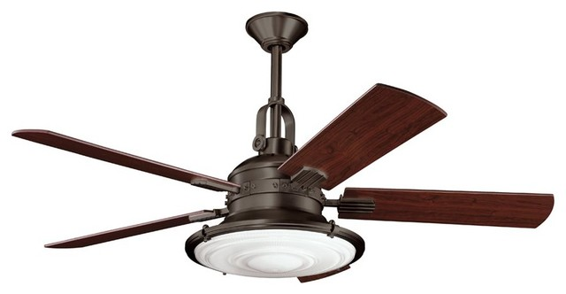 """KICHLER FANS 300020OZ Kittery Point 52"""" Contemporary Ceiling Fan contemporary-ceiling-fans"""