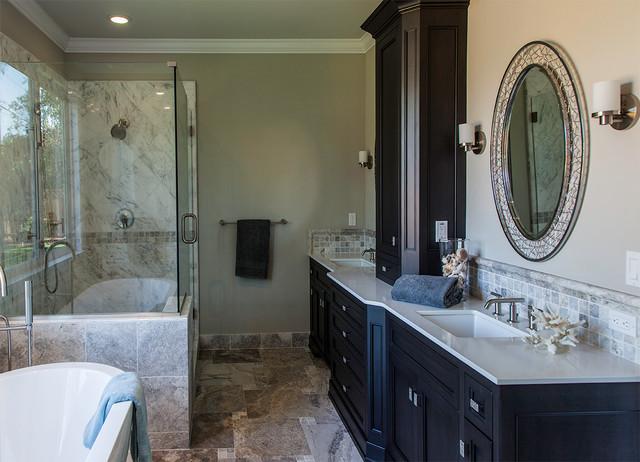 Transitional master bath eclectic bathroom san for Bathroom design san francisco