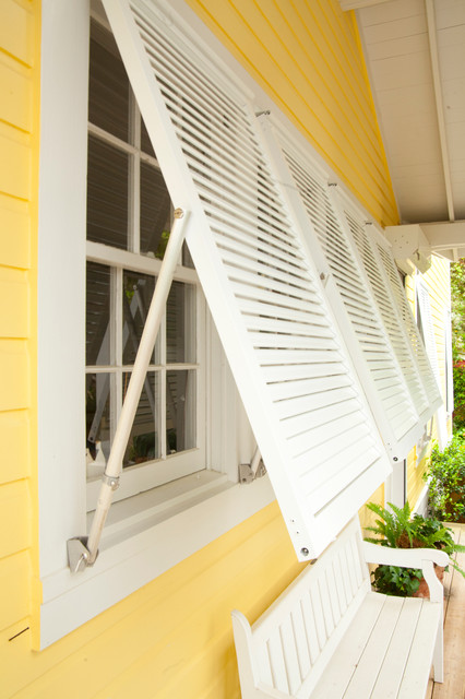 bahama impact storm decorative shutters tropical exterior chicago by roll a way storm