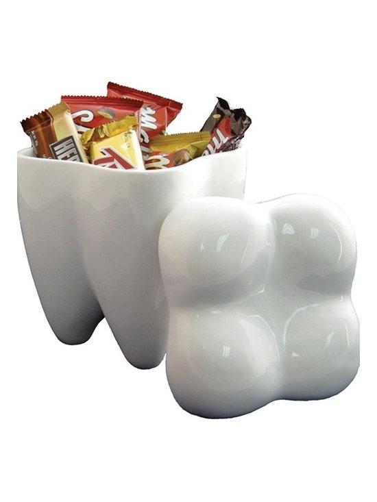 Sweet Tooth Cookie Jar -