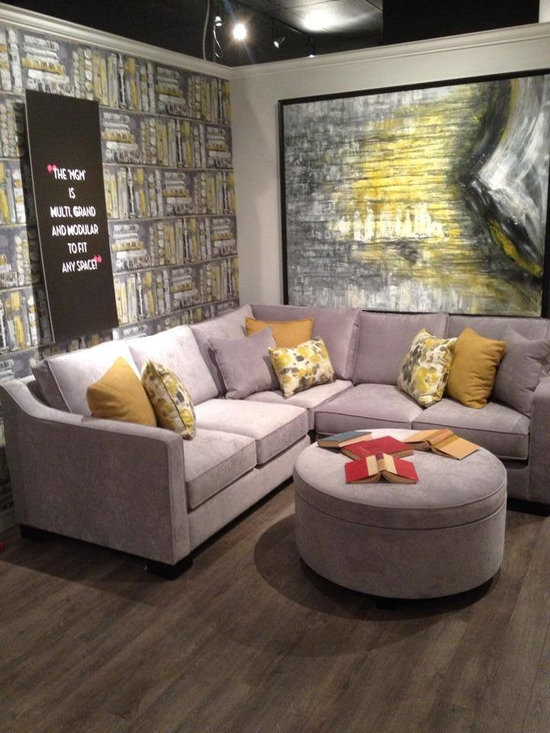 Toronto Showroom 2014 - The MGM Sectional is the perfect modular sectional for any size space!