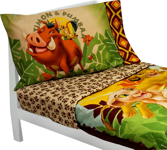 Lion King Toddler Bedding Set Simba Nala Comforter Sheets
