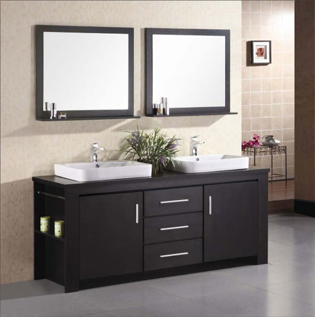 Bathroom Double Vanity : Modular Bathroom Vanities modern-bathroom-vanities-and-sink-consoles