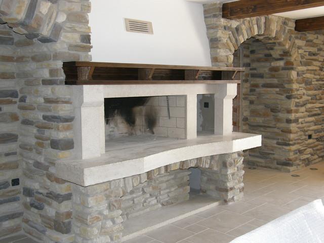 Kostrena Tavern Fireplaces Rustic Indoor Fireplaces