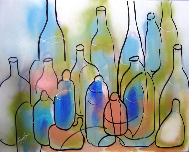 Bottles modern