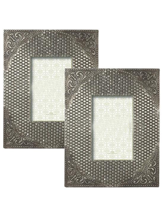 Antique Silver Picture Frames (pair) -