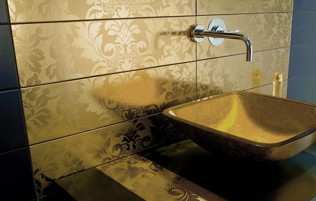 Domasco Pure Golden - Dune - 6x24 ceramic tile contemporary-tile