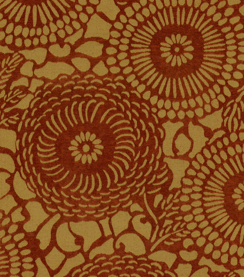 Home Decor Upholstery Fabric-Waverly Mariko / Henna  upholstery fabric